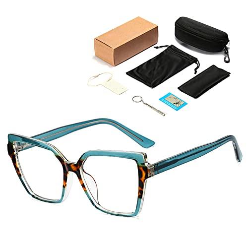 HQPCAHL Gafas Ojos De Gato, Gafas Luz Azul para Ordenador contra La Fatiga Ocular Y El Dolor De Cabeza para Mujeres, Hombres Y Niños,C