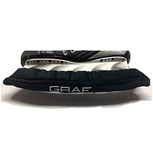 GRAF Kufenschoner Kufenstrumpf für Eishockey Schlittschuhe auch K2 Bauer t-Blade Größe 42, 43, 44, 45, 46, 47