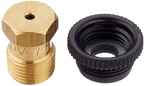 Gardena Sprinklersystem Entwässerungsventil: Zubehör für T-Stück 25 mm x 3/4 Zoll Innengewinde, für automatische Bewässerung bei Außerbetriebnahme der Sprinkleranlage zum Frostschutz (2760-20)