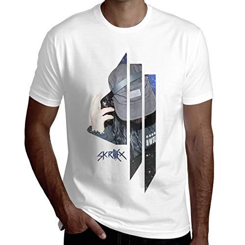 スクリレックス Skrillex Tシャツ 半袖 メンズ スポーツ 丸首 カジュアル 通気 吸汗速乾 柔らかい S-3XL