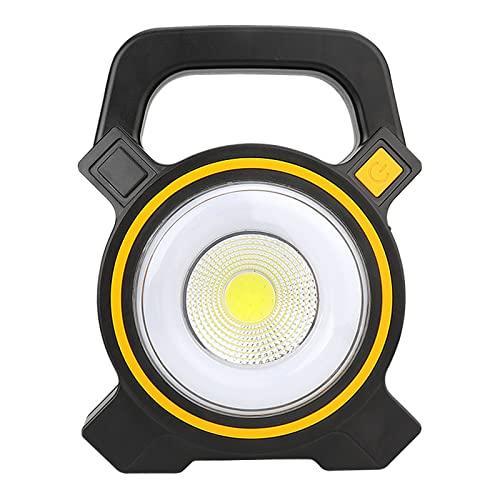 Ktimor Luz De Trabajo LED Recargable, 3 Modos, Foco LED Recargable para La Reparación De Automóviles, Camping, Luces De Seguridad De Emergencia