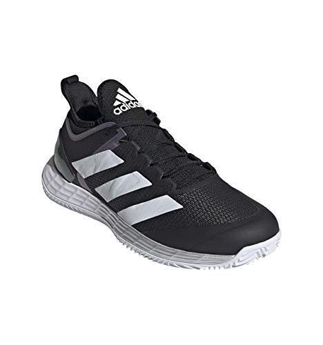 adidas Adizero Ubersonic 4 W Clay, Zapatillas de Tenis Mujer, NEGBÁS/Plamet/FTWBLA, 38 2/3 EU