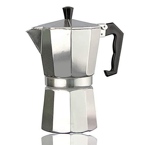 LSS Kaffeemaschine, Herd Espresso Aluminium Mokka Espresso Percolator Pot Kaffeemaschine Maker Moka Pot1cup / 3Cup / 6Cup / 9Cup / 12Cup