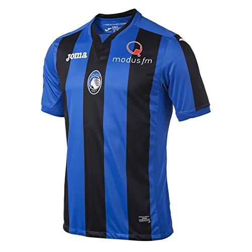 Joma 2017-2018 Atalanta Home Football Soccer T-Shirt Trikot