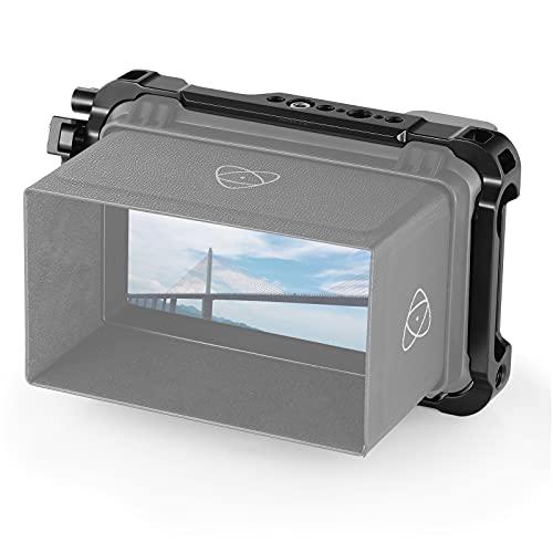 SMALLRIG Monitor Cage para Atomos Ninja V, Jaula del Registrador con HMDI Clamp y SSD Drive Locks - 2209