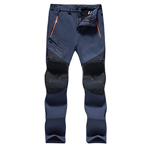 LHHMZ Pantalones de Senderismo Hombre Pantalones para Camina