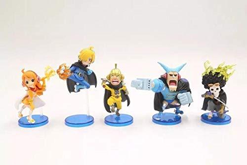 RGERG Action-figuren speelgoed doos ei strohoed Flyer Jerma Francis Handcraft 5 stuks, 8 cm hoog