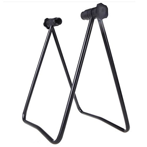 Toxz Aluminum Portable Bike Stand,Bicycle Repair Rack Parking Stand,Folding Bike Wheel Holder Repair Stand Hub Kickstand