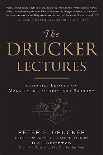 Drucker, P: Drucker Lectures: Essential Lessons on Managemen