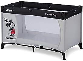 Hauck Disney Cuna de Viaje Dream N Play, para Bebes y Niños de Nacimiento hasta 15 kg, 120 x 60 cm, Plegable, Compacta,...