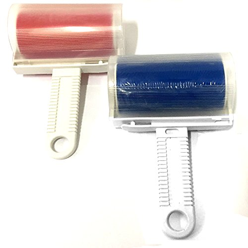 HAC24 2er Set Fusselroller abwaschbar Fusselentferner Kleiderroller Fusselrolle