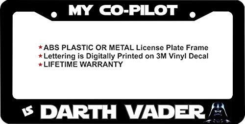 darth vader license plate frame - 7