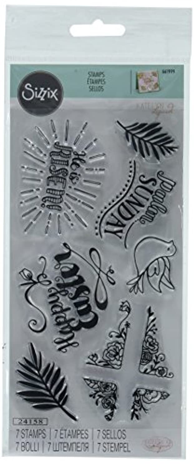 Sizzix 661999 Clear Stamps, He is Risen