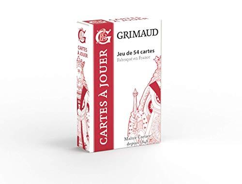 Grimaud Origine - Jeu de 54 Cartes - Jeu de Cartes