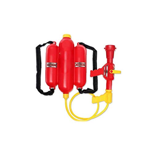 GGOOD Juguete Deportes Niños Mochila Bombero Boquilla Pistola de Agua Blaster Juguete de la Playa al Aire Libre para los niños 1PC Juego de Presión