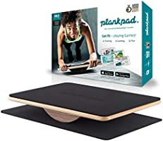 "plankpad - Full-body fitness trainer with training app for iOS and Android - Innovative balance board from ""Shark Tank""..."