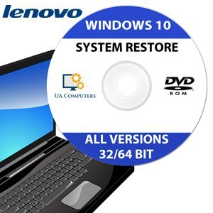 Lenovo Recovery Disc for Windows 10 Home and Professional 32/64 Bit