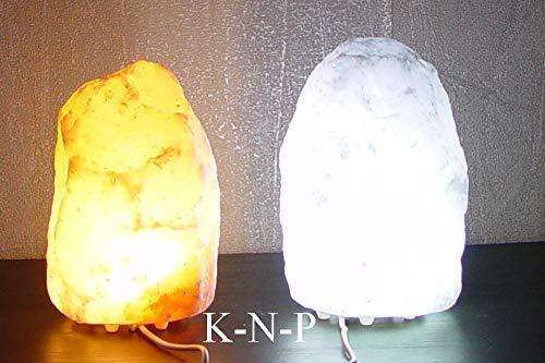 LED Rosa Weiß Salzlampe Natur Himalaya USB je 1-2kg Therapeutisches Kristallsalz Ausgezeichnetes Design Unschlagbare Qualität