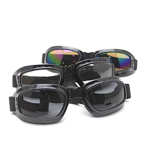 HuntGold Nouveau lunettes de soleil pliable pour le MTB cyclisme activité extérieur(Lentilles couleur: gris)