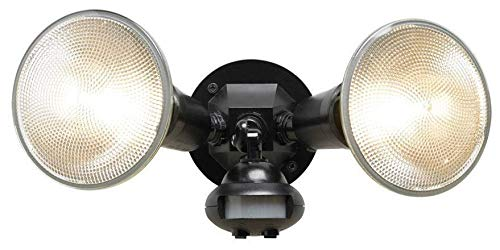 Cooper MS34 110 Degree Black Motion Activated Security Floodlight - Quantity 4