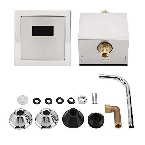 Jacksking Elektronische Spülung, hygienische automatische wassersparende elektronische Spülung Urinsensor Urinal Induktive Toilettenspülung, Urinal Induktive Toilettenspülung
