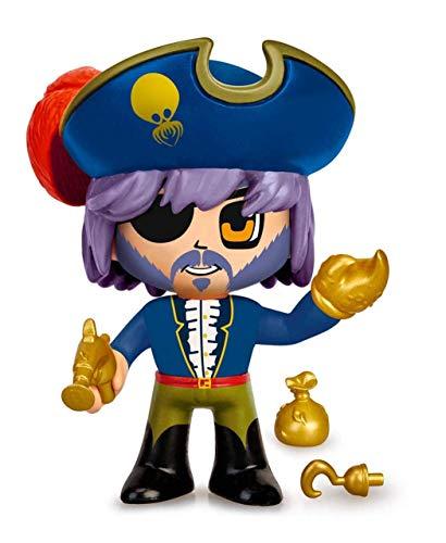 Pinypon Action- Piratas pack 2 figuras con accesorios, para niños y niñas a...