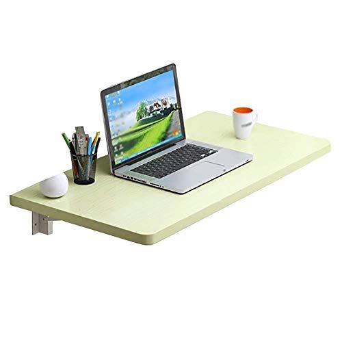 WYJW Tablet houten tafel/computer bureau/eettafel/eettafel/zwevende bureau/garage werkbank (afmeting: 90x50cm)
