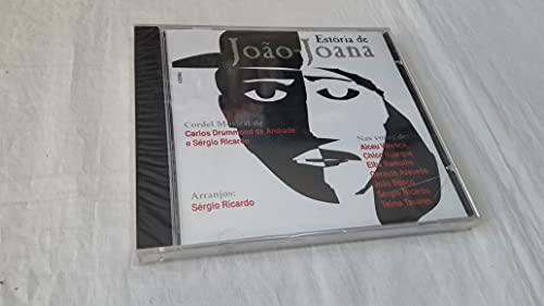 CD Estoria de João - Joana - Cordel Musical de Carlos Drummond de Andrade e Sergio Ricardo