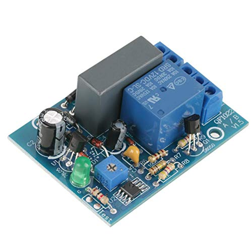 Módulo de relé de temporizador, temporizador ajustable de 220 VCA, temporizador de retardo, interruptor de apagado, módulo de relé de tiempo, carga 10A250VAC / 1(0~100 Min)