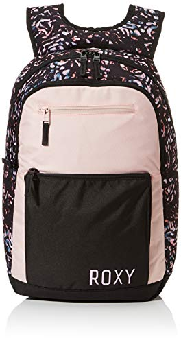 ROXY Womens HERE You Are COLORBLCK Fitness Backpack, True Black IZI, Medium