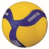 MIKASA Unisex Adulto V350W-SL Voleibol Azul 5
