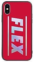 7種類のかわいいパステルヴィンテージスタイルのユニークで魅力的なモダンクラシックの幾何学的CuteシャイニングBig New Flex英語の文字柄キャラクターレタリングラブリーアートデザインiPhoneケースとGalaxyケースTPUシリコンとハードの二重構造のホログラムミラーバンパースマホケース.TR- 11-05-DJW (iPhone XS MAX, 4.RED) [並行輸入品]