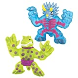 Heroes of Goo Jit Zu Dino X-Ray Stone Age Rampage Versus Pack - Tritops vs Shredz
