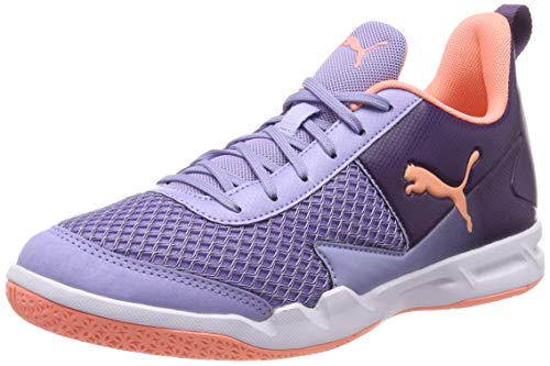Puma Damen Rise XT 4 WN's Multisport Indoor Schuhe, Violett (Sweet Lavender-Bright Peach-Indigo...