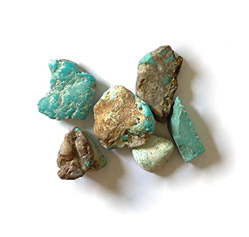 Türkis • natürlicher Türkis • 10 g • kleine Rohsteine (Edelsteine), unsortiert