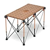 Bora Centipede Table Top For Bora Centipede Work Stands, Includes Work Top and (6) Quick-Twist Handles, CK22T
