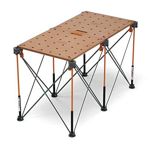 Bora Centipede Table Top Accessory For Use With Bora Centipede Work Stands, Includes Work Top and (6) Quick-Twist Handles, CK22T