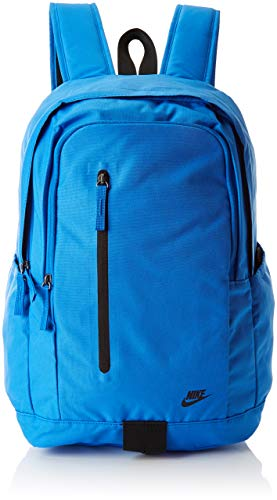 Nike Nk All Access Soleday Bkpk - S Mochila, Unisex adultos, Multicolor (Signal Blue/Black/Bl)