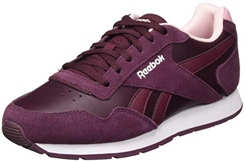 Reebok Royal Glide, Zapatillas de Running Mujer, Granat/CLAPNK/Blanco, 37 EU