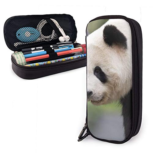 Estuche gigante de panda haciendo flexiones para niños y niñas, estuche grande para lápices, para estudiantes, colegios y oficinas