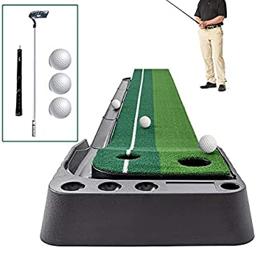 Golf Putting Green System Professional Practice Green Long Challenging Putter Indoor/Outdoor Golf Simulator Training Mat Aid Equipment