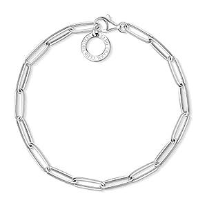 Thomas Sabo Damen-Charm-Armband Charm Club 925 Sterling Silber X0253-001-21-L17