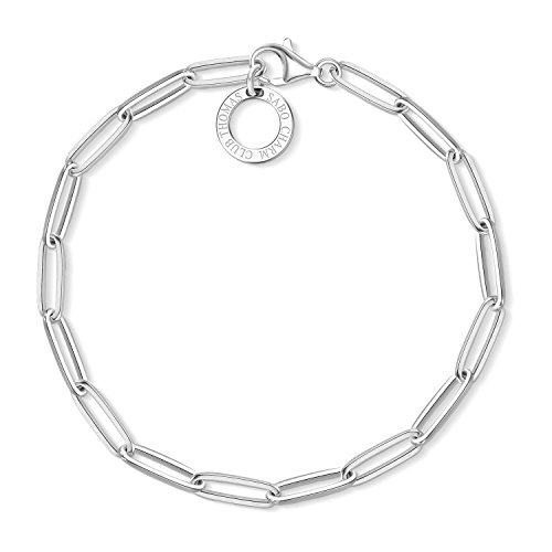 Thomas Sabo Damen-Charm-Armband Charm Club 925 Sterling Silber X0253-001-21