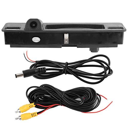 Cámara con asa para Maletero, cámara de visión Trasera con Sensor de Imagen CCD Impermeable de Varias Capas, luz de Relleno Digital para estacionamiento de automóviles en el Exterior del