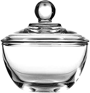 Anchor Hocking Presence Sugar Dish with Cover, Clear