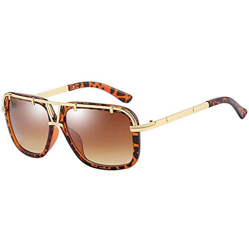 SHEEN KELLY Original Design Große Flug Herren Retro Sonnenbrille Square Damen Verspiegelt Pilot Schrittweise Linsen UV400