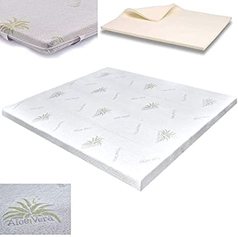 Topper Memory Foam Correttore Rigidita Per Materasso 160x190 X 5 Cm Matrimoniale Amazon It Casa E Cucina