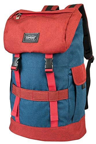 Target Phenomen Backpack Unisex-Adult, Rouge/Bleu, Taille Unique