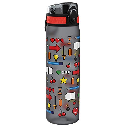 Ion8 Botella Agua, Sin Fugas, Sin BPA, 500 ml, Jugador