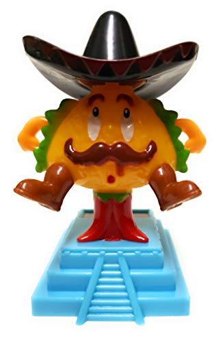 Greenbriar Plastic Solar-Powered Dancing Taco Style May Vary